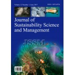 JOURNAL OF SUSTAINABILITY SCIENCE AND MANAGEMENT Vol.12, No.1