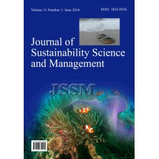 JOURNAL OF SUSTAINABILITY SCIENCE AND MANAGEMENT Vol.11, No.1