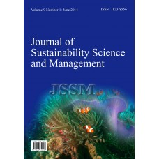 JOURNAL OF SUSTAINABILITY SCIENCE AND MANAGEMENT Vol.9, No.1