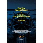 MODUL FINAL YEAR RESEARCH PROJECT & GUIDELINES FOR REPORT PREPARATION (PITA)